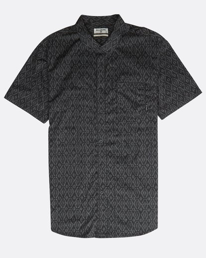 0 Sundays Mini Shirt Grey N1SH01BIP9 Billabong