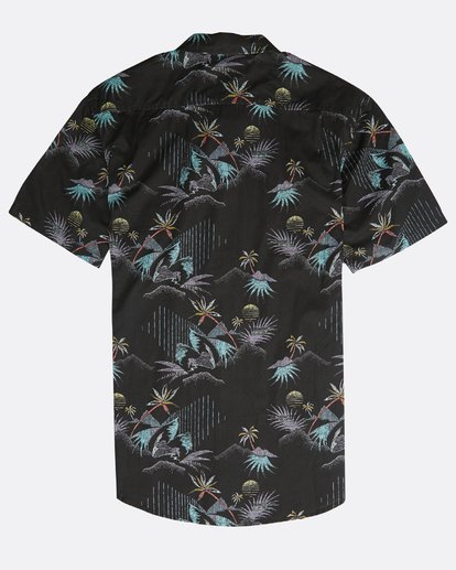 1 Sundays Floral Shirt Black N1SH02BIP9 Billabong
