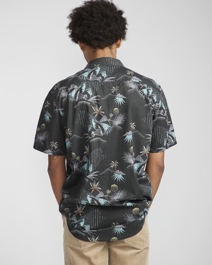 3 Sundays Floral Shirt Black N1SH02BIP9 Billabong