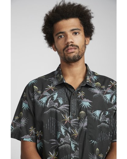 4 Sundays Floral Shirt Black N1SH02BIP9 Billabong