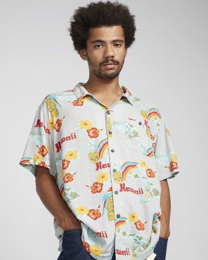2 Vacay Print Shirt Beige N1SH03BIP9 Billabong
