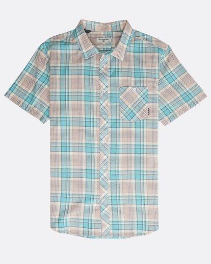 0 All Day Check Shirt Purple N1SH04BIP9 Billabong