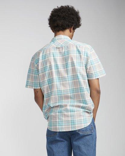 4 All Day Check Shirt Purple N1SH04BIP9 Billabong