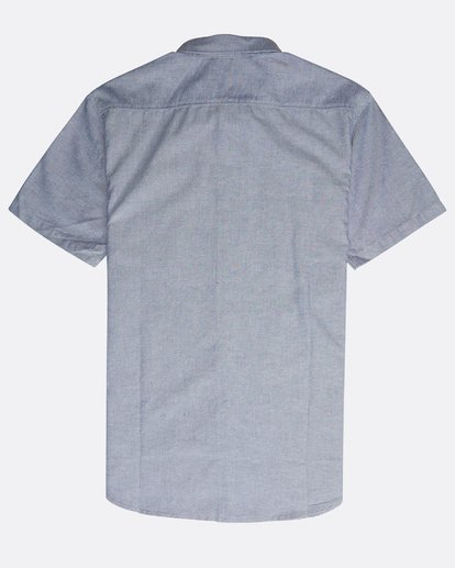 1 All Day Short Sleeve Shirt Blue N1SH05BIP9 Billabong