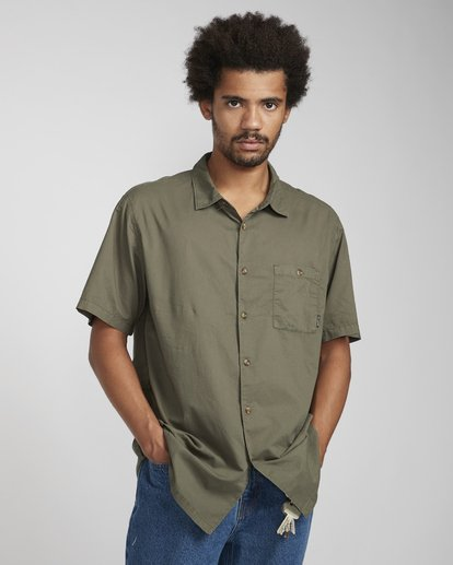 2 Wave Washed Shirt Camo N1SH07BIP9 Billabong