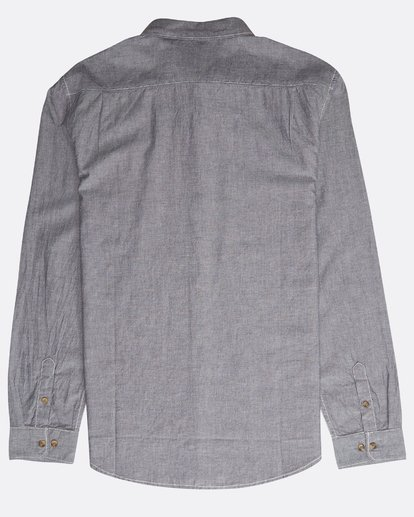 1 All Day Chambray Ls Grey N1SH09BIP9 Billabong