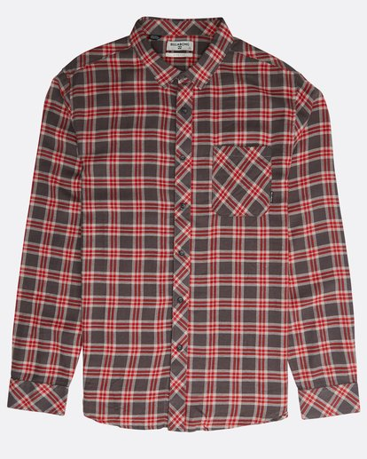 0 Freemont Long Sleeve Flannel Gris N1SH10BIP9 Billabong