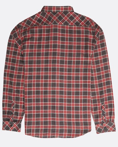 1 Freemont Long Sleeve Flannel Gris N1SH10BIP9 Billabong
