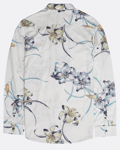 1 Sundays Floral Long Sleeve Shirt Beige N1SH13BIP9 Billabong