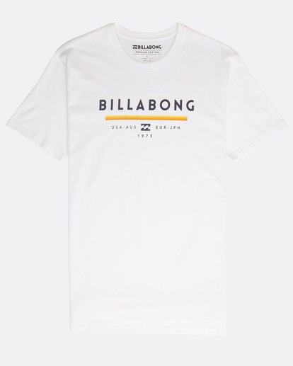 0 Unity T-Shirt Weiss N1SS01BIP9 Billabong