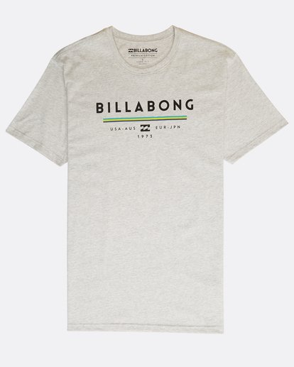 0 Unity T-Shirt Gris N1SS01BIP9 Billabong
