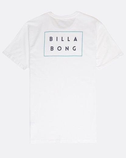 1 Die Cut T-Shirt Blanco N1SS02BIP9 Billabong