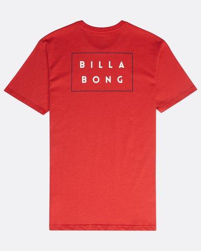 1 Die Cut T-Shirt Rojo N1SS02BIP9 Billabong