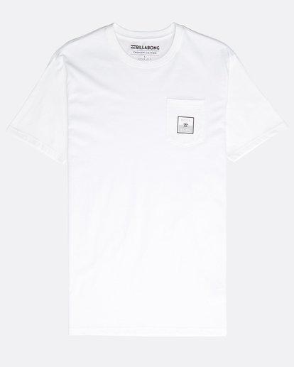 0 Stacked T-Shirt Blanc N1SS03BIP9 Billabong