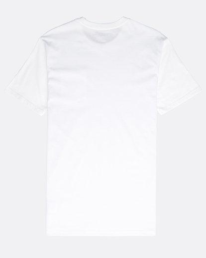 1 Stacked T-Shirt Blanc N1SS03BIP9 Billabong
