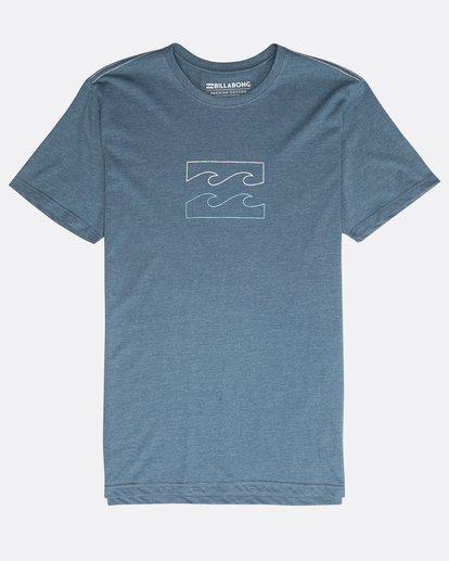 0 Wave T-Shirt Bleu N1SS04BIP9 Billabong