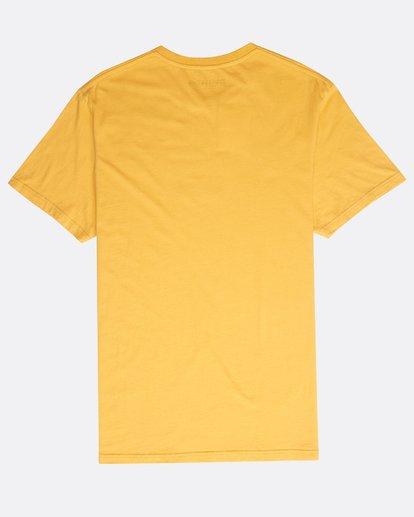 1 Decal T-Shirt Gelb N1SS05BIP9 Billabong