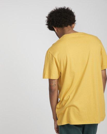 4 Decal T-Shirt Gelb N1SS05BIP9 Billabong