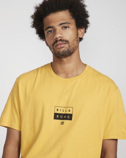 2 Decal T-Shirt Gelb N1SS05BIP9 Billabong
