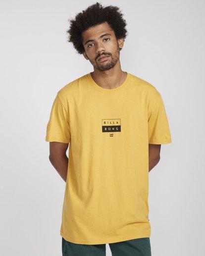 3 Decal T-Shirt Gelb N1SS05BIP9 Billabong