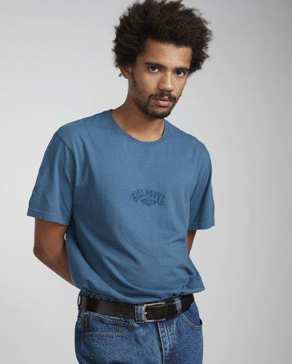 3 Arch T-Shirt Azul N1SS06BIP9 Billabong