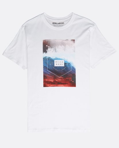 0 Section T-Shirt Blanc N1SS07BIP9 Billabong