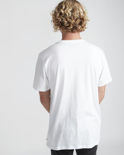 3 Section T-Shirt Blanc N1SS07BIP9 Billabong