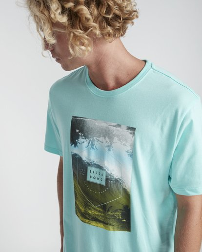 2 Section T-Shirt Verde N1SS07BIP9 Billabong