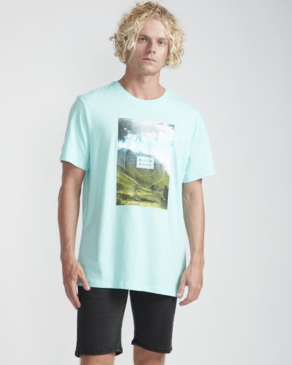 3 Section T-Shirt Verde N1SS07BIP9 Billabong