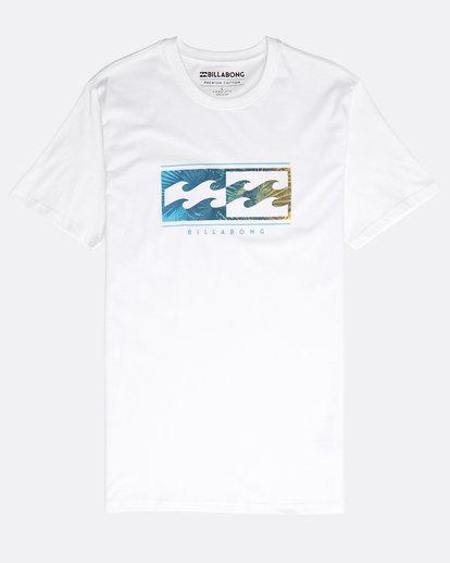0 Inversed T-Shirt Blanco N1SS08BIP9 Billabong