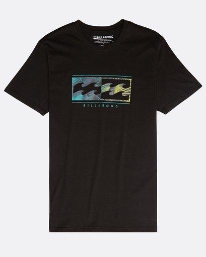 0 Inversed T-Shirt Schwarz N1SS08BIP9 Billabong