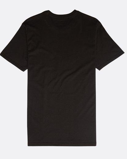 1 Inversed T-Shirt Schwarz N1SS08BIP9 Billabong