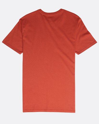 1 Inversed T-Shirt Red N1SS08BIP9 Billabong