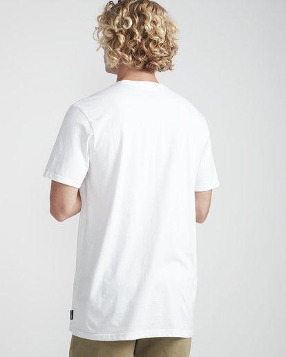 3 Inversed T-Shirt Blanco N1SS08BIP9 Billabong