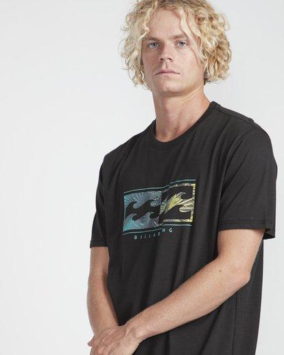 2 Inversed T-Shirt Schwarz N1SS08BIP9 Billabong