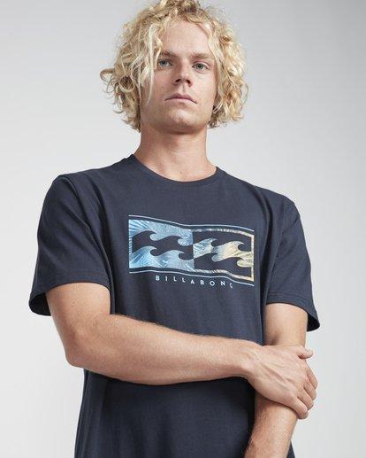 2 Inversed T-Shirt Bleu N1SS08BIP9 Billabong