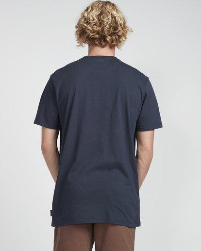 3 Inversed T-Shirt Bleu N1SS08BIP9 Billabong