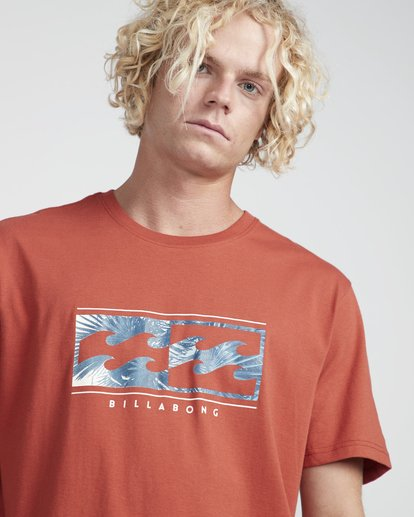2 Inversed T-Shirt Red N1SS08BIP9 Billabong