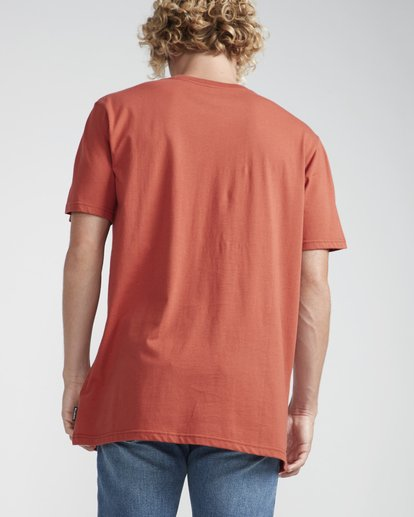 3 Inversed T-Shirt Red N1SS08BIP9 Billabong