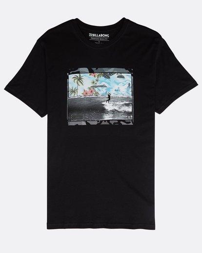 0 High Line T-Shirt Black N1SS10BIP9 Billabong