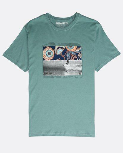 0 High Line T-Shirt Verde N1SS10BIP9 Billabong