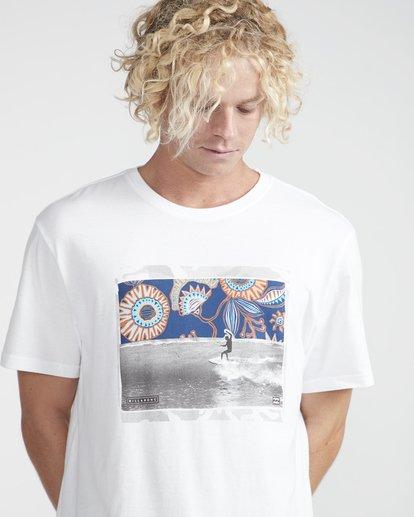 2 High Line T-Shirt Weiss N1SS10BIP9 Billabong