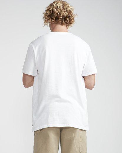 3 High Line T-Shirt Weiss N1SS10BIP9 Billabong