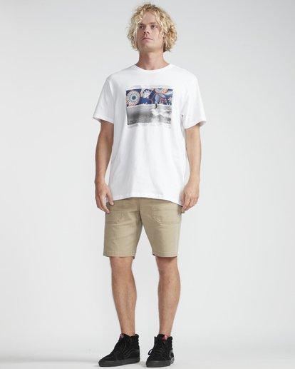 4 High Line T-Shirt Weiss N1SS10BIP9 Billabong