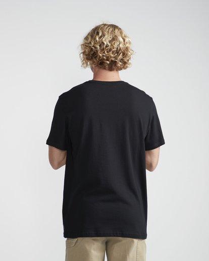 3 High Line T-Shirt Black N1SS10BIP9 Billabong