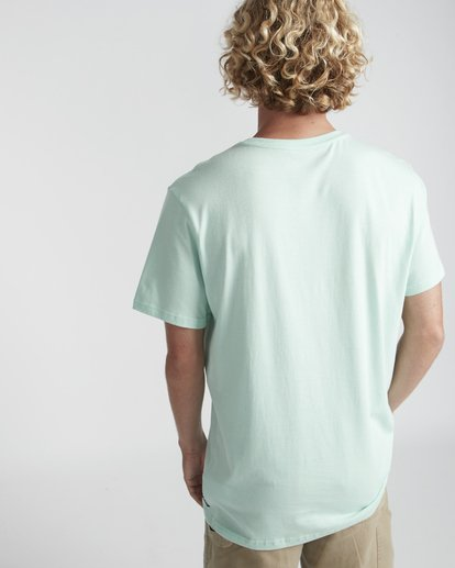 3 High Line T-Shirt Verde N1SS10BIP9 Billabong