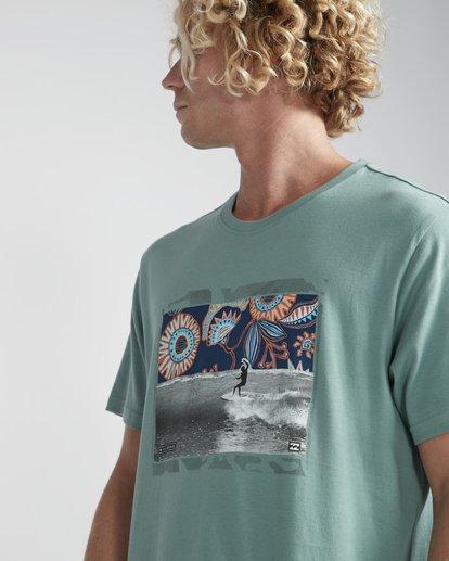 2 High Line T-Shirt Verde N1SS10BIP9 Billabong