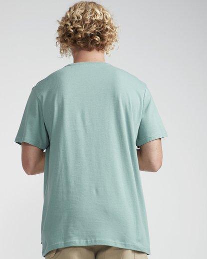 3 High Line T-Shirt Grün N1SS10BIP9 Billabong