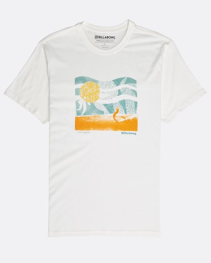 0 Outline T-Shirt Beige N1SS12BIP9 Billabong