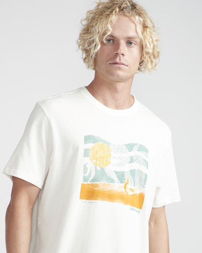 2 Outline T-Shirt Beige N1SS12BIP9 Billabong